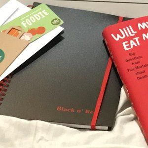 Whole Foods Other - Will My Cat Eat My Eyeballs? Book Swag Bag NWOT